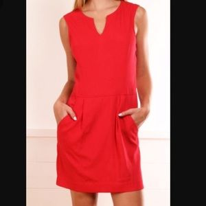 Red Theory Dress - Adalize
